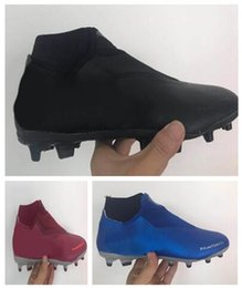 soccer series 2018 - popular Outdoor Phantom Vision Academy MG Shadow Series High Soccer shoes,Training Sneakers,studded cleated football boo