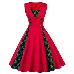 Black chiffon tunic dress online shopping - 2018 Fashion Women Robe Pin Up Dress Retro Vintage s s Rockabilly Dot Swing Summer female Dresses Elegant Tunic Vestido