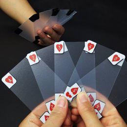 $enCountryForm.capitalKeyWord UK - WNAAY7 Transparent PVC Plastic Waterproof Poker Set Clear Playing Cards Bendable Card