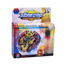 Discount mini beyblades - Beyblade BB802 Booster Alter Spinning Gyro Launcher Starter String Booster Battling Top Beyblades B-48 B-66 Beyblade Toy