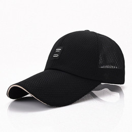 Male Korean tide fast dry summer hat brim extended baseball cap brim large  outdoor tennis hat 11cm Ball Caps Men s hat 9d04e49d525c