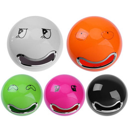 Discount smile storage boxes - Cute Smile Face Plastic Tissue Box Wall Mounted Bathroom Toilet Paper Storage Box Tissue Roll Paper Holder Organizer Cas