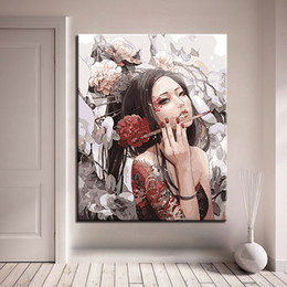 $enCountryForm.capitalKeyWord Canada - Framework DIY Digit Canvas Oil Painting By Numbers Kits Coloring Handpainted Anime Beauty Portraits Pictures Home Wall Art Decor
