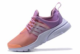 Shoes Green Color Australia - Ultra light Better Off Quality With White Green Orange Gradient color Shoelaces And Red Tag Prestos 2.0 Men Designer Trainers casual shoes