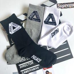 $enCountryForm.capitalKeyWord Canada - Triangular Mark Popular Logo Socks Harajuku Skateboard Print Letters Stockings Retro Sports Lovers Combed Cotton Socks