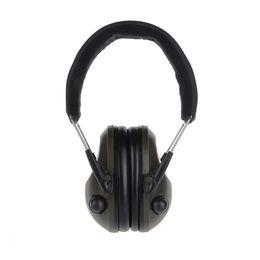 حماية السمع الإلكترونية غطاء للأذنين الضوضاء الصيد الصيد التكتيكية سماعة لتصوير الأذن حامي الأذن يفشل VB