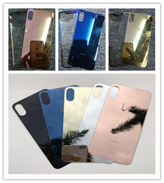 online shopping Mirror clear glasses Tempered Screen Protector electroplating protectors make up sticker film for iphone X Plus s se s plus