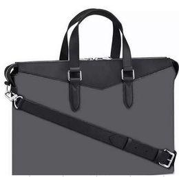 Оптовая торговля розничная классический мужчины кошелек кожаные портфели дизайнер сумка сумка Роскошные фирменные сумки EXPLORER пр портфель с письмом на Распродаже