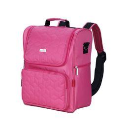 $enCountryForm.capitalKeyWord UK - Fashionable Mommy Diaper Bag Large Capacity Baby Nappy Bags Desiger Nursing Bag Fashion Travel Backpack Baby Care Bebek Bag For Mom Dad