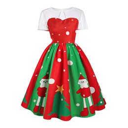 $enCountryForm.capitalKeyWord UK - New Christmas A line dress short sleeve stitching print dress party cosplay costume festival stage clothes