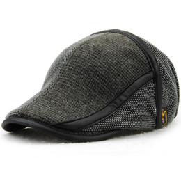 1606a0a63fd drivers hats 2019 - Duckbill Hat Winter Warm Newsboy Flat Scally Baseball Cap  Ivy Cabbie Driver