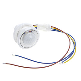 Security & Protection 2018 40mm Led Pir Detector Infrared Motion Sensor Switch With Time Delay Adjustable Light Dark Products Are Sold Without Limitations Sensor & Detector