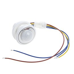 Chinese  40mm LED PIR Detector Infrared Motion Sensor Switch with Time Delay Adjustable #L057# new hot manufacturers