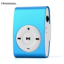 Discount mp3 player sporting - MP3 Player Gift Mini Clip With Earphone Music Media Portable mp3 player USB Sport Music Listen Phone QIY06 D23
