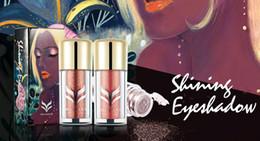 Yellow Glitter Canada - NEW ARRIVAL HUAMIANLI Diamond eye shadow Metallic Eye Shadow luminous glitter shimmer high quality free shipping