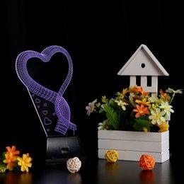 $enCountryForm.capitalKeyWord NZ - 3D LED Night Light Love Heart Shape Illusion Magical Nightlight Wedding Decor Christmas Romantic Lights Wedding Gift Desk Table Bedside Lamp