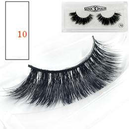 Top False Eyelashes Australia - 3D False Eyelashes 9 Styles Makeup for Eyes 100% Real Natural Thick False Fake Eyelashes Eye Lashes Beauty Tools Top Quality