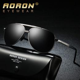 Discount aoron polarized sunglasses - AORON Brand Sunglasses Men Polarized Fashion Classic Pilot Sun Glasses Fishing Driving Goggles Shades For Men Women