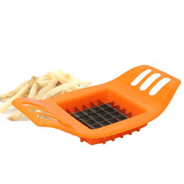 potato fries cutter UK - Qihang_top Household Potato Slicing Tools For French Fries Cut Fries Potatoes Manual Potato French Fry Cutter Slicer