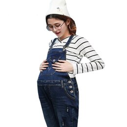 d73e6617af97 Pregnancy Clothing Bib Overalls Pants New Jeans Maternity Pants For Pregnant  Prop Belly Legging Women Dungarees Clothes Trousers