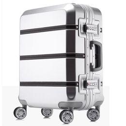 32cc1e063 20/24/28 pulgadas spinner ABS PC PU empalme bolsa de equipaje rodante  hardside