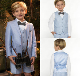 $enCountryForm.capitalKeyWord NZ - 2018 Summer Light Blue Boys Small Suits Handsome Custom Made Boys Formal Suits Kids Formal Suit Three Pieces Top Qaulity