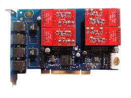 TDM410P S100M/карта X100M звездочки, trixbox или IP-АТС ЗАПЧЕЛ, с модулями 4ports с 2FXS портами fxo модуль