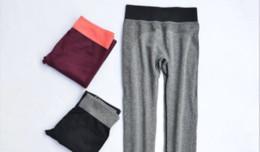 $enCountryForm.capitalKeyWord NZ - 20pcsWomen Fashion Tight Sportwear Nice Leggings High Elastic Thin Sports Yoga Pants Fitness Running Long Trousers Legging Wholesale 4 color