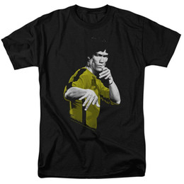 Toptan satış Ölüm Lisanslı Yetişkin T Shirt Of Bruce Lee Takım
