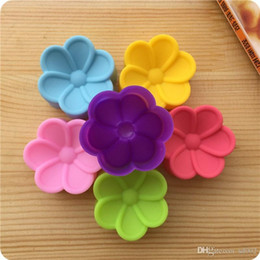 Bakery Decor NZ - Creative Silicone Cake Mold 5CM Begonia Flower Shape Bread Chocolate Hand Soap Mould Bakery Pastry Decor Baking Tools Hot Sale 0 5de aa