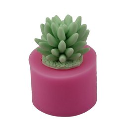 $enCountryForm.capitalKeyWord NZ - Succulent Plants Fondant Cake Silicone Mold Cactus DIY Aroma Gypsum Plaster Silicon Mould Candle Molds Baking Decoration Tool