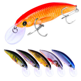 free plastic fishing lures NZ - Fish plastic baits Hard Lures Fishhooks 3D Minnow Fishing Lure Hooks 4# Hook Artificial Pesca Tackle Accessories 10.3cm 13.2g Free Shipping