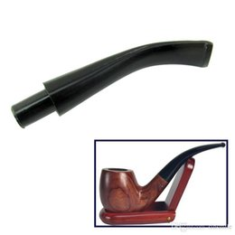 9mm Pipe Filters Australia - Wholesale- DIY Pipe Stem Mouthpiece Bent Taper 9mm Filter with Activate Carbon Filter Mouthpiece Smoking Pipe Accessories