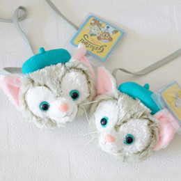 Gelatoni Duffy Best New Friends Plush Bag Japanese Anime Toys Soft Cat Coin Bags For Girls Baby Toy Children Birthday Gift