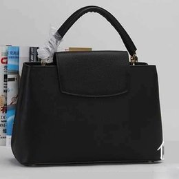 Genuine Leather Bag Design Australia - Fasion Women Brand New Design Handbag Tote Bag Female Shoulder Bags High Quality Genuine Cowhide Leather Purse