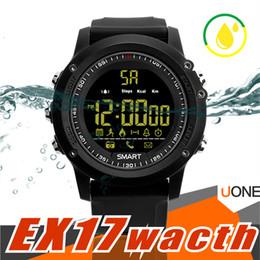 Watch long bracelet online shopping - For apple iPhone Bluetooth smart watch EX17 Long standby time Smartwatch Bracelet IP67 Waterproof Swim Fitness Tracker Android Sport Watchs