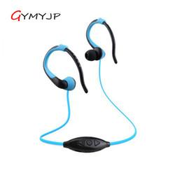 Novo estilo de bluetooth esporte mp3 player de música wma tf / slot para cartão micro sd sem fio em execução fone de ouvido com fone de ouvido bluetooth venda por atacado