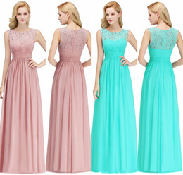 Bridesmaids dresses for Beach weddings online shopping - 100 Real Photos Cheap Bridesmaids Dresses For Summer Boho Beach Weddings A Line Lace Chiffon Floor Length Wedding Guest Gowns CPS1067