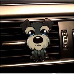 $enCountryForm.capitalKeyWord Canada - Car Ornament Cute Puppy Pet Dog Auto Air Conditioner Outlet Decoration Perfume Clip Air Freshener Automobile Tuyere Fragrance