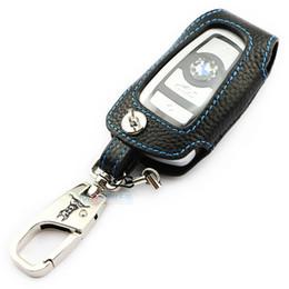 Leather Key Case Bmw Canada - Genuine Leather Key Case for BMW X3 X4 M3 M4 M5 M6 118i 328i 235i 435i 528i GT 640i 740LI ADDAN car accessories