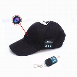 Remote video cameRas online shopping - New HD P Cap Camera Remote Contral Mini Camera Bluetooth Headset Music Play Video Recorder PC Webcam Out Door Sport Camera