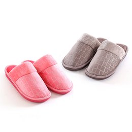 43d30cf35da8 PROWOW Winter Striped Soft Floor Man Indoor Flats Shoes Warm Plush Cotton  Slipper Terlik Men Casual Sneakers For Home Slippers