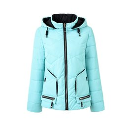 Drop Shipping Quality Jackets UK - 2018 Drop Shipping Winter Jacket Women Long Sleeve Hooded Fashion Female Coats High Quality Winter Women Clothing