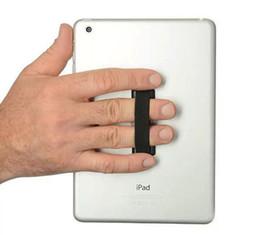 Venta al por mayor de Banda elástica adherida a la correa del teléfono móvil Soporte para dispositivo de asa del anillo de dedo Soporte de la eslinga Para teléfono móvil sin DHL