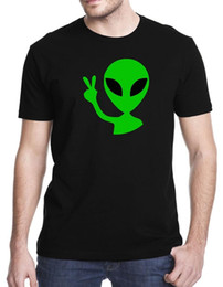 $enCountryForm.capitalKeyWord Australia - 2018 Summer Casual Man T Shirt Gbond Apparel Alien Peace T-Shirt Hipster O-neck cool tops