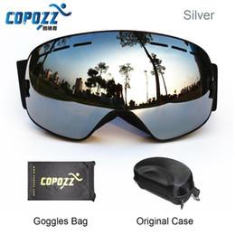 $enCountryForm.capitalKeyWord NZ - COPOZZ ski goggles double lens UV anti-fog big spherical skiing snowboarding snow goggles GOG-201+Box Case