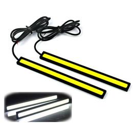 $enCountryForm.capitalKeyWord UK - 2Pcs 17cm LED COB Car DRL Auto Daytime Running Light Strip Waterproof 12V Automobile Light-emitting Diode Fog Lamp Bar Accessory