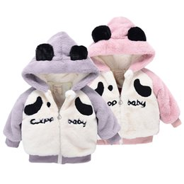 $enCountryForm.capitalKeyWord NZ - Baby Infant Kids Boys Cartoon Ears Hooded Coat Cloak Tops Warm Clothes For kids Full Sleeve Toddler Outerwear
