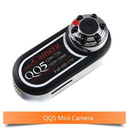 $enCountryForm.capitalKeyWord NZ - Mini Camera QQ5 Full HD 1080P 12MP Micro Camera 170' Ultra-Wide Angle Motion Detector Infrared Mini DV Camcorder Webcam