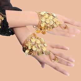 Wear Bracelet Australia - Dance Wear Bollywood Jewelry for Dance Bracelets 1 Pair Jewelry Set Indian Accessories